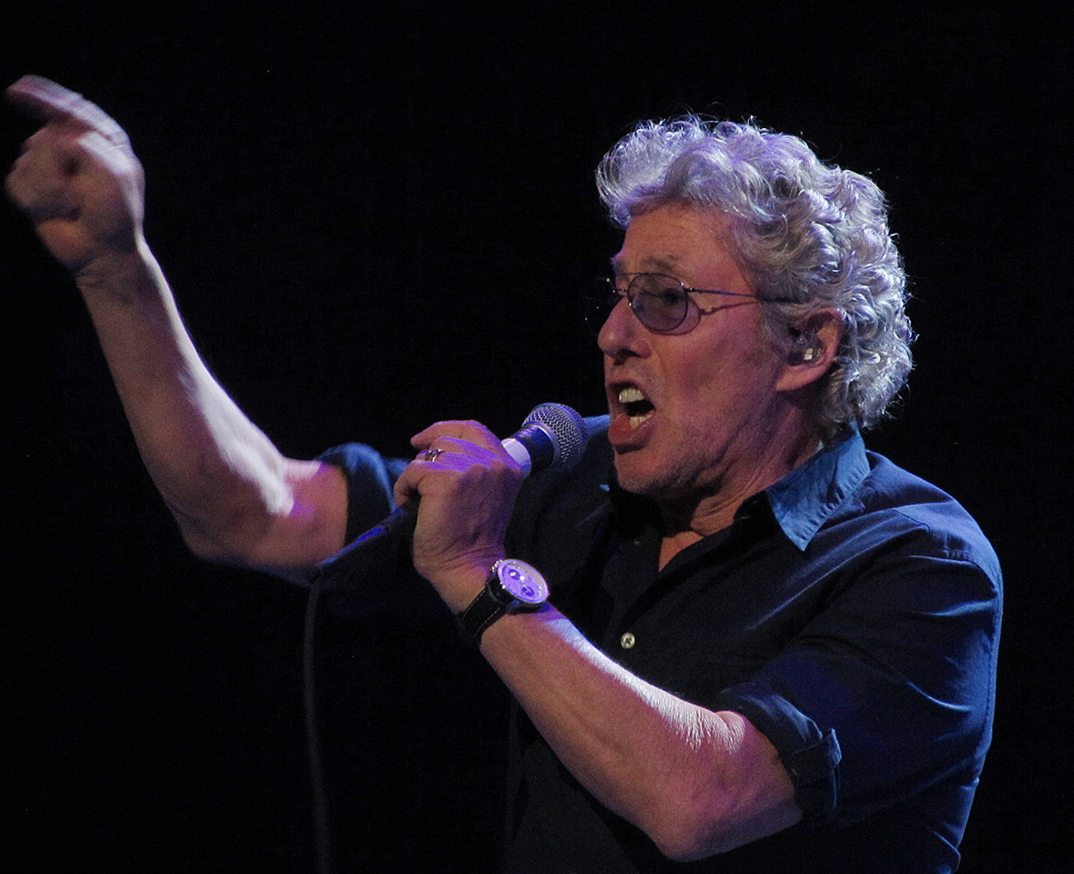 Roger Daltrey at TD Garden in Boston, Massachusetts March 7, 2016