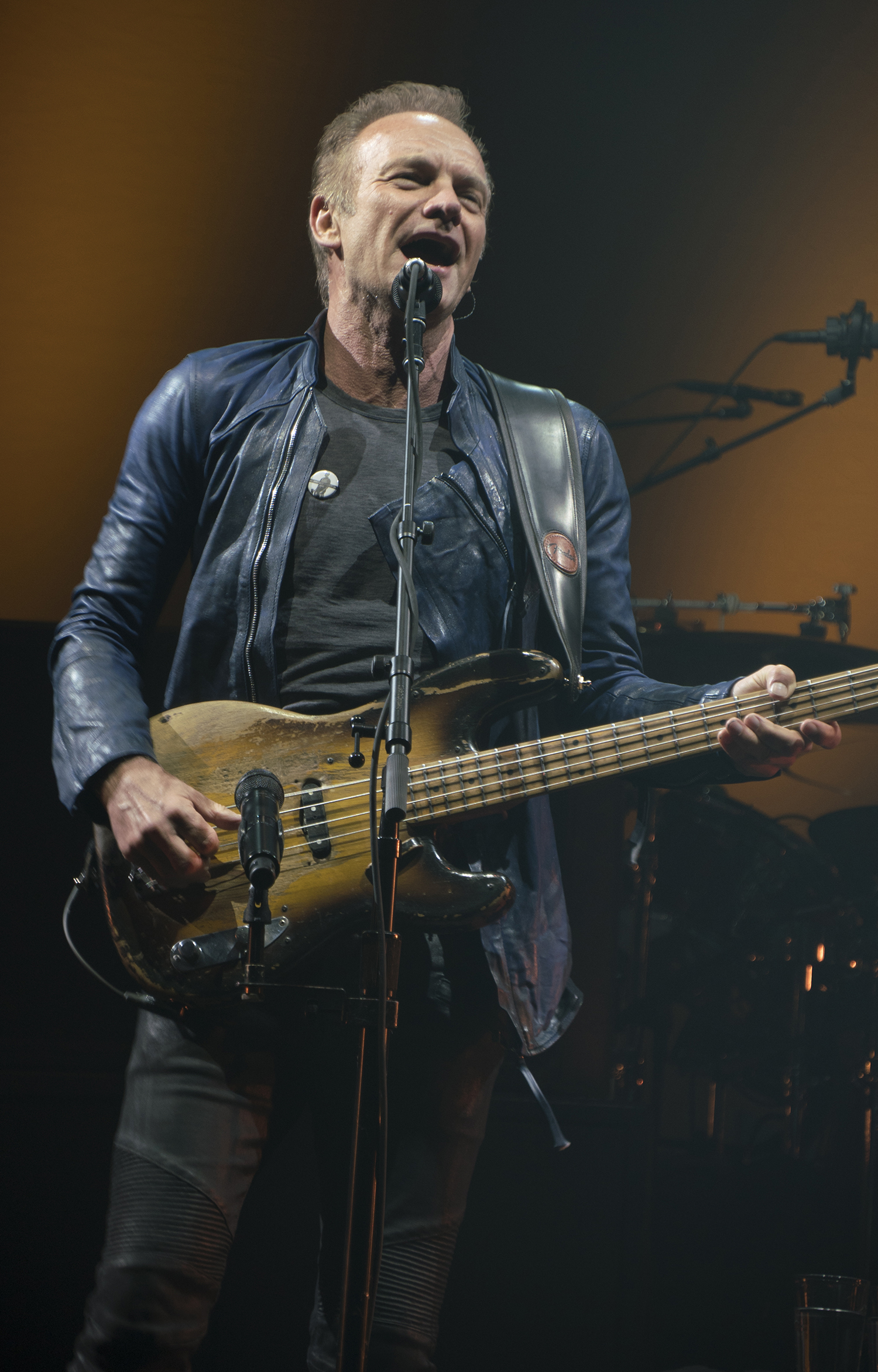 Sting at DCU Center in Worcester, Massachusetts July 2, 2016