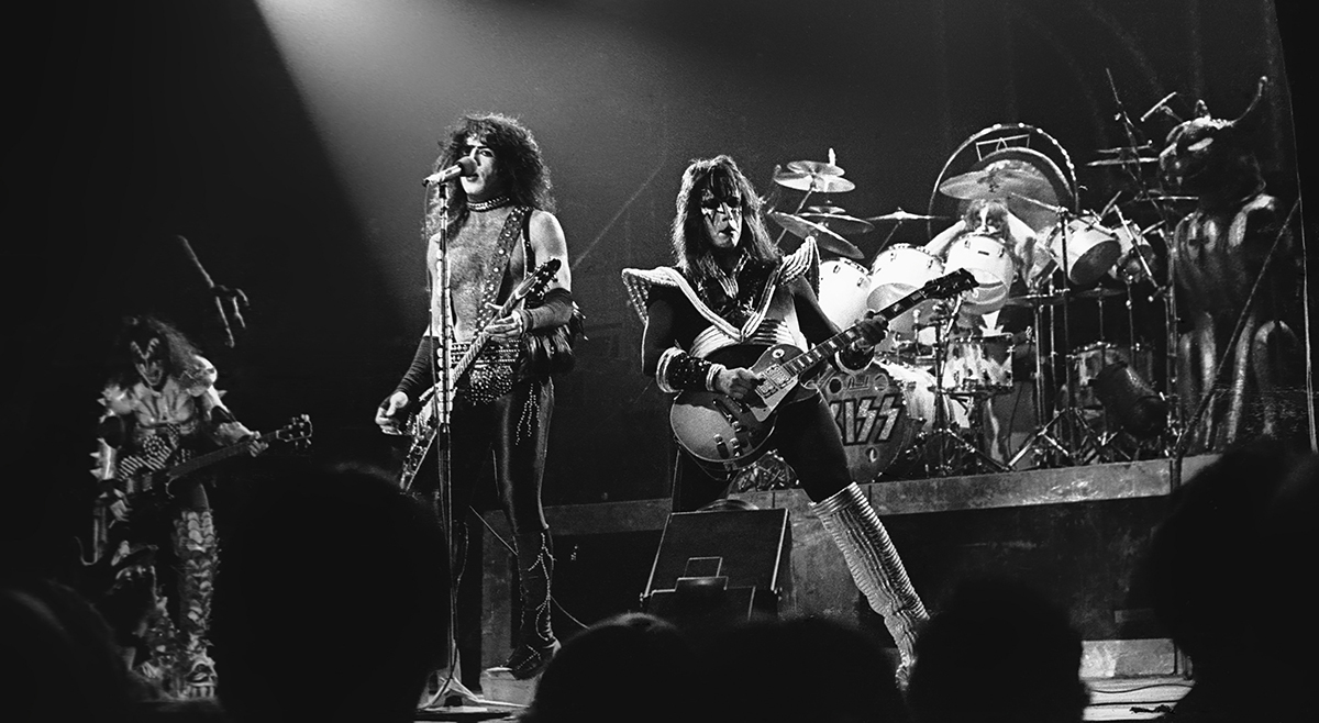 Kiss Debut at Madison Square Garden – 40 Years Later