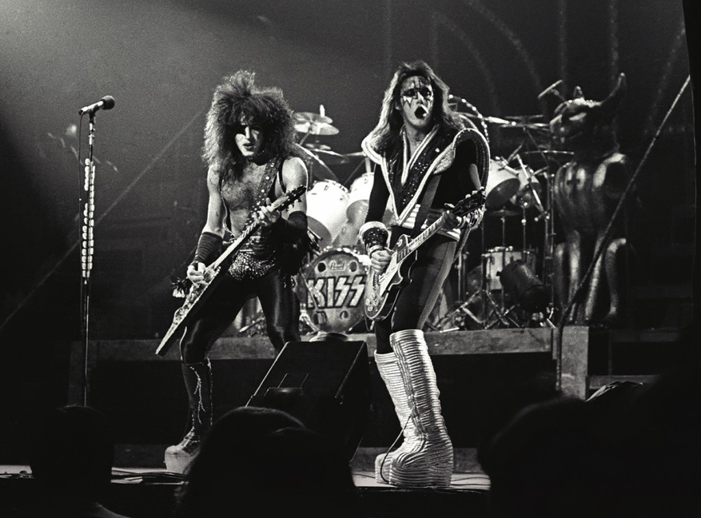 Kiss Debut At Madison Square Garden 40 Years Later