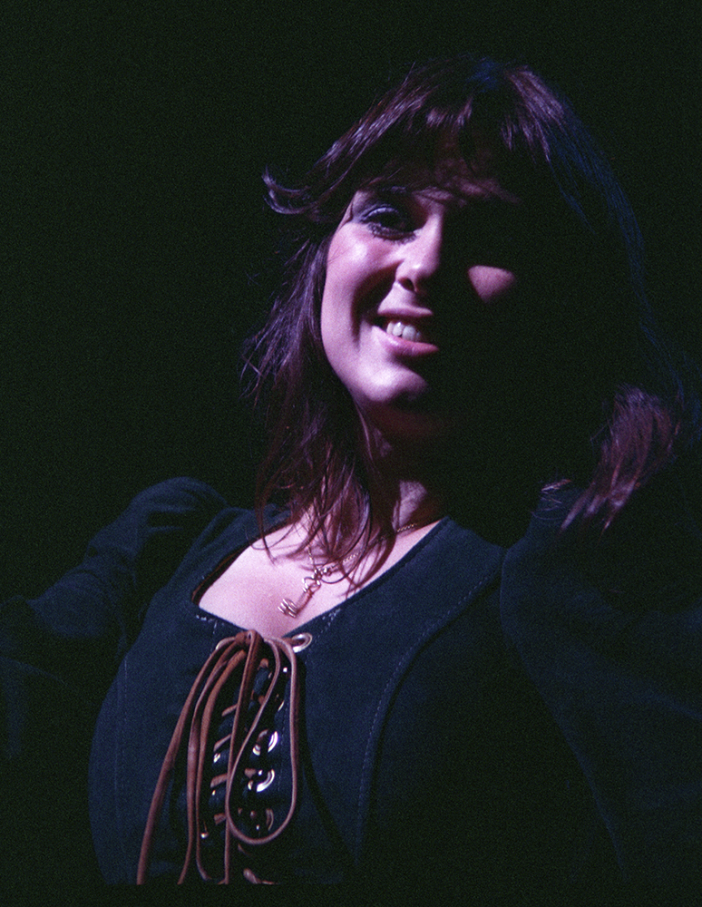 Ann Wilson of Heart at Centeral Park New York August 22, 1977