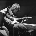 Roger Fisher, guitarist for Heart, at Centeral Park New York August 22, 1977
