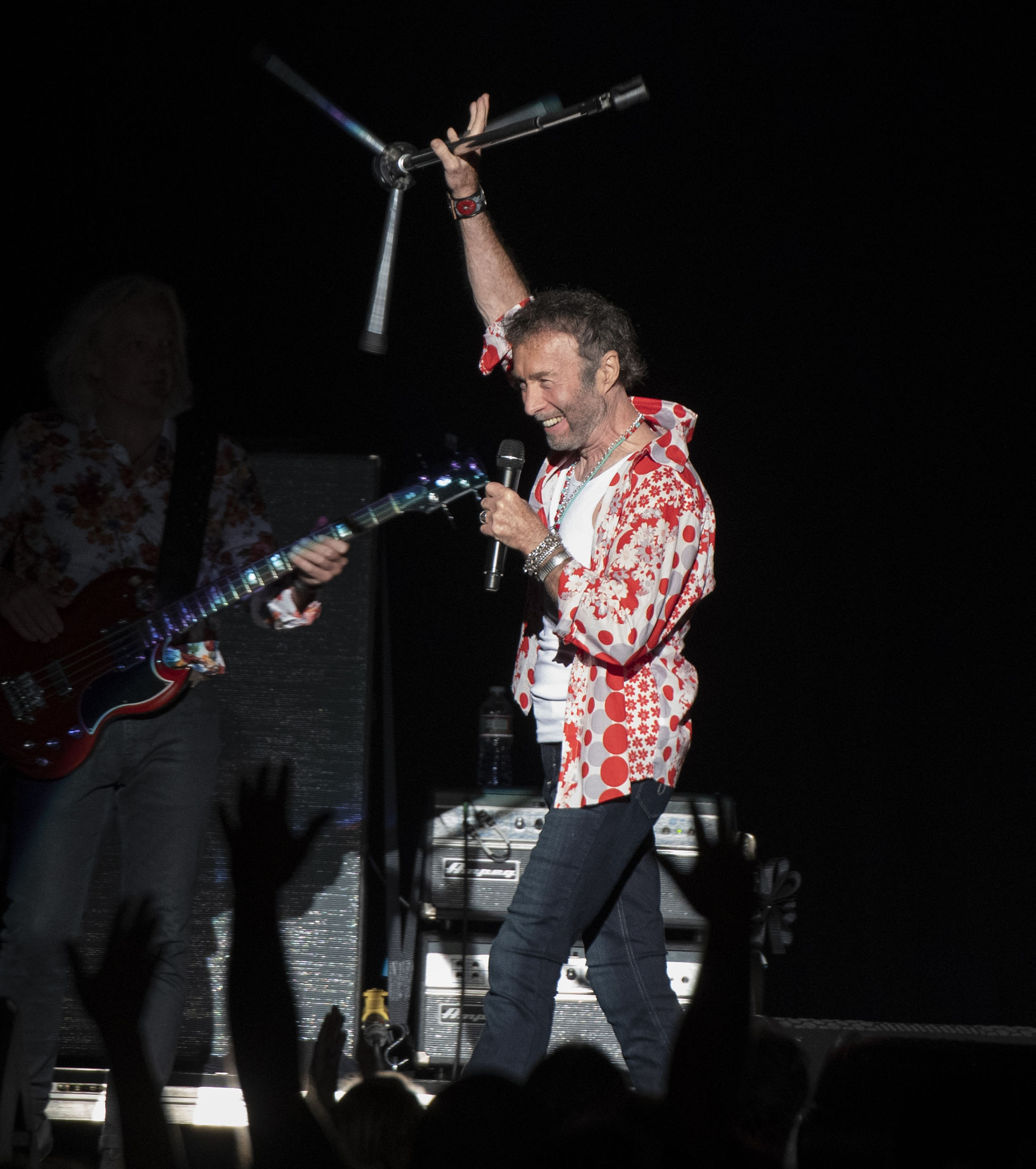 Paul Rodgers at the Blue Hills Bank Pavillion, Boston, MA August 3, 2018
