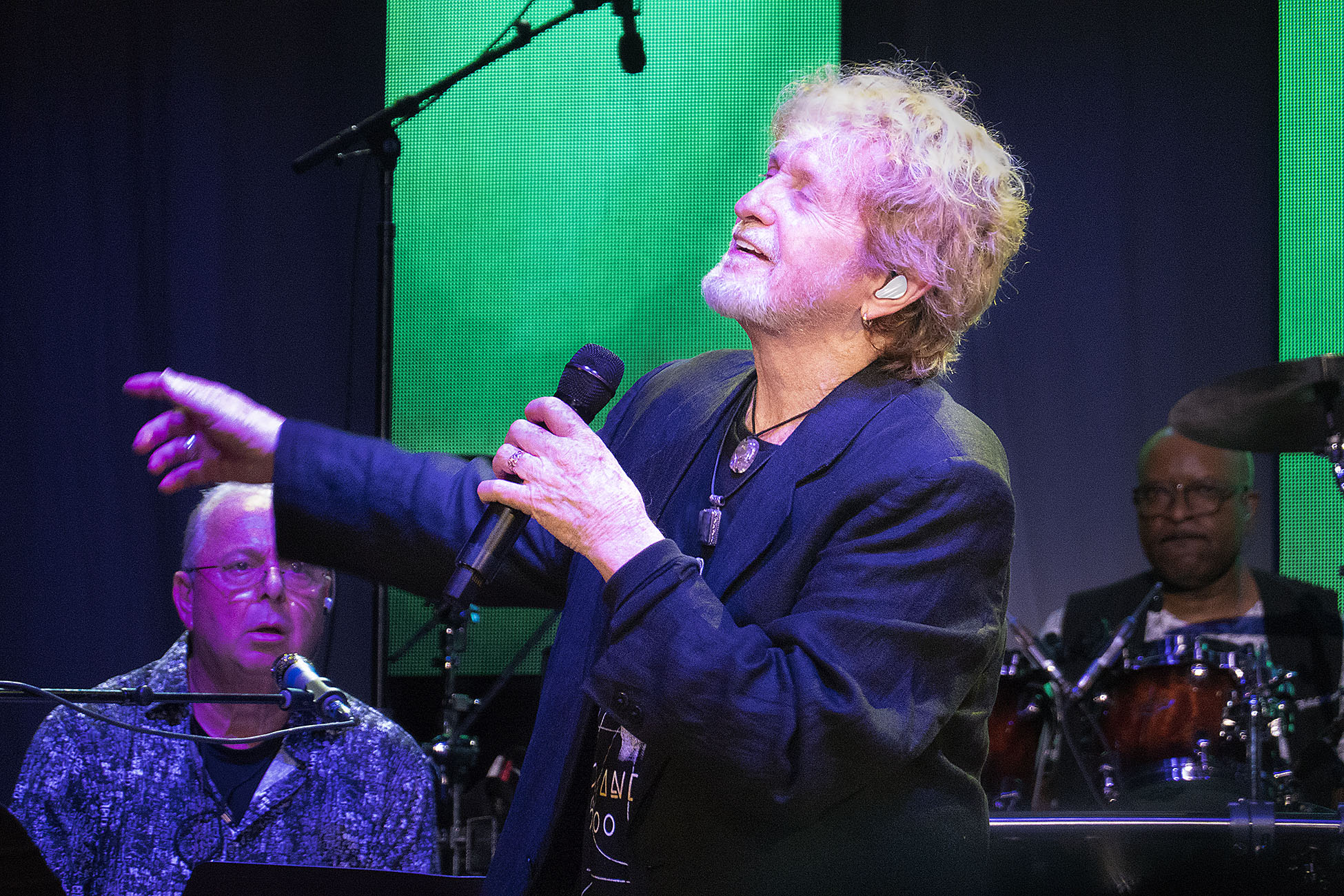 Jon Anderson at the Lynn Auditorium.