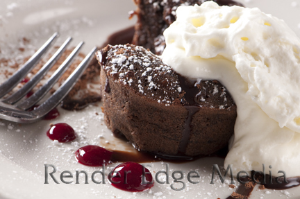 Lava Cake as prepared by Chef Andy Fass of Amelia's Restaurant in Gainesville, FL