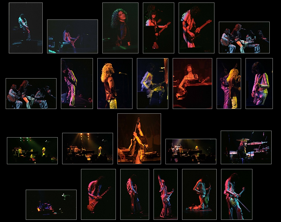 Thumbnails Of Led Zeppelin At Madison Square Garden June 11 1977 Render Edge Media Llc