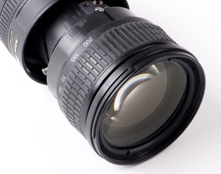 Perfect glass on Broken Nikkor 18-200mm Zoom Lens