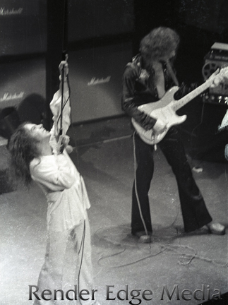 Ritchie Blackmore at the Beacon Theater December 1975.