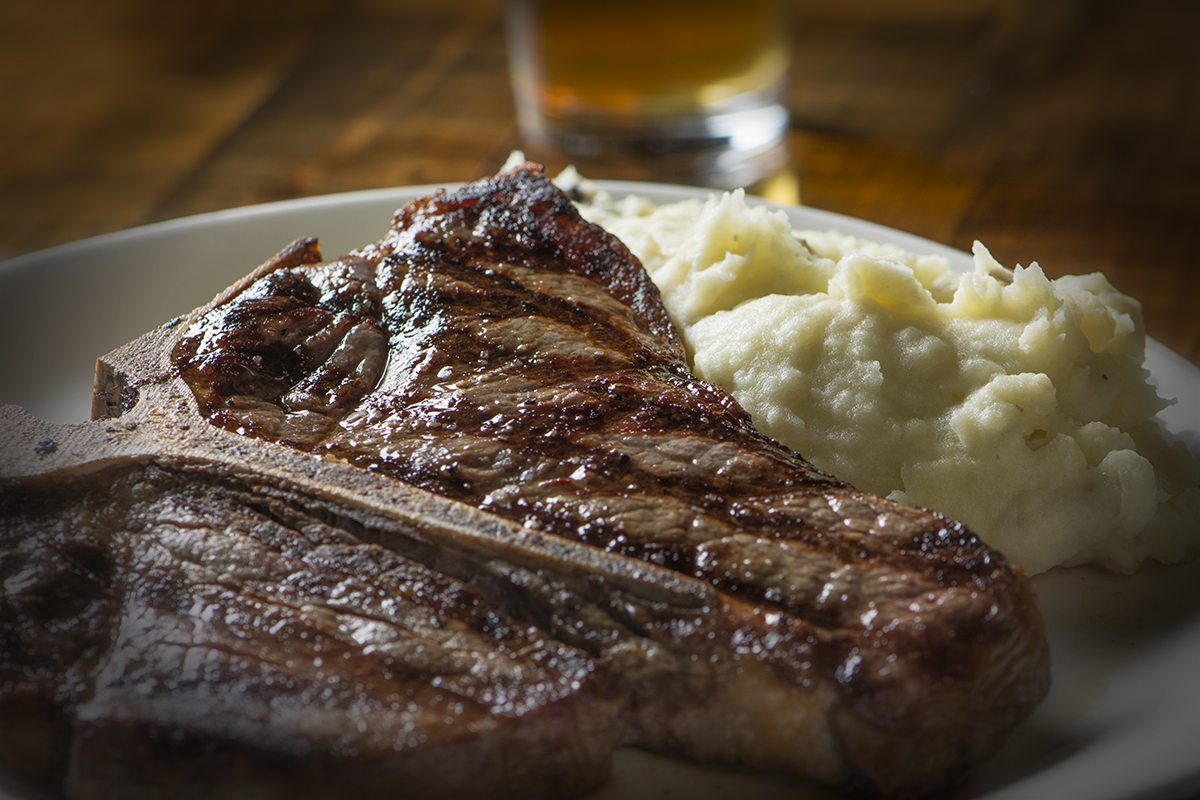 Tuckaway Tavern and Butchery T-Bone Steak