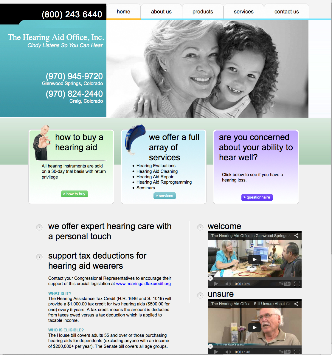 The Hearing Aid Office, Inc.