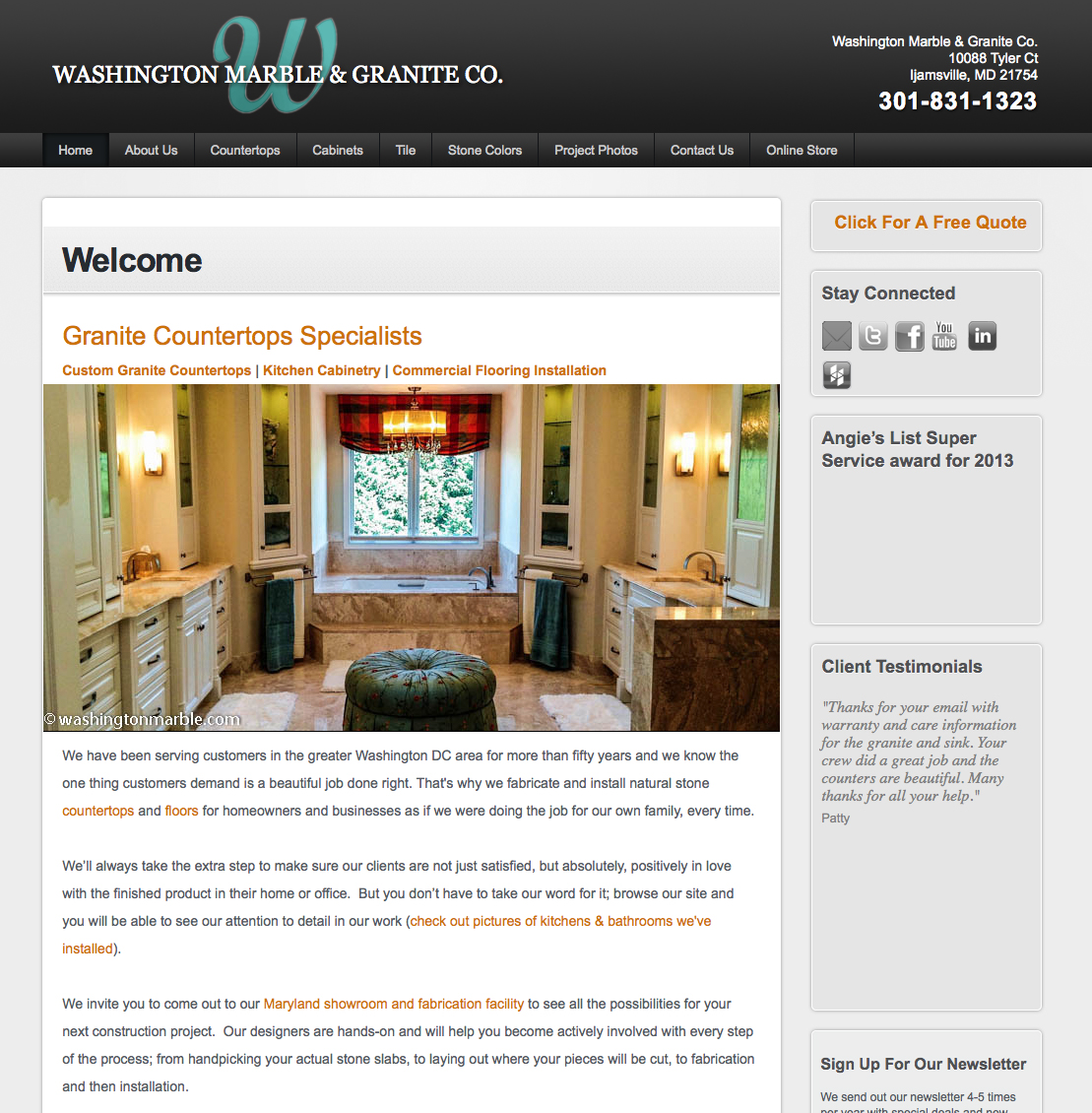washingtonmarble.com