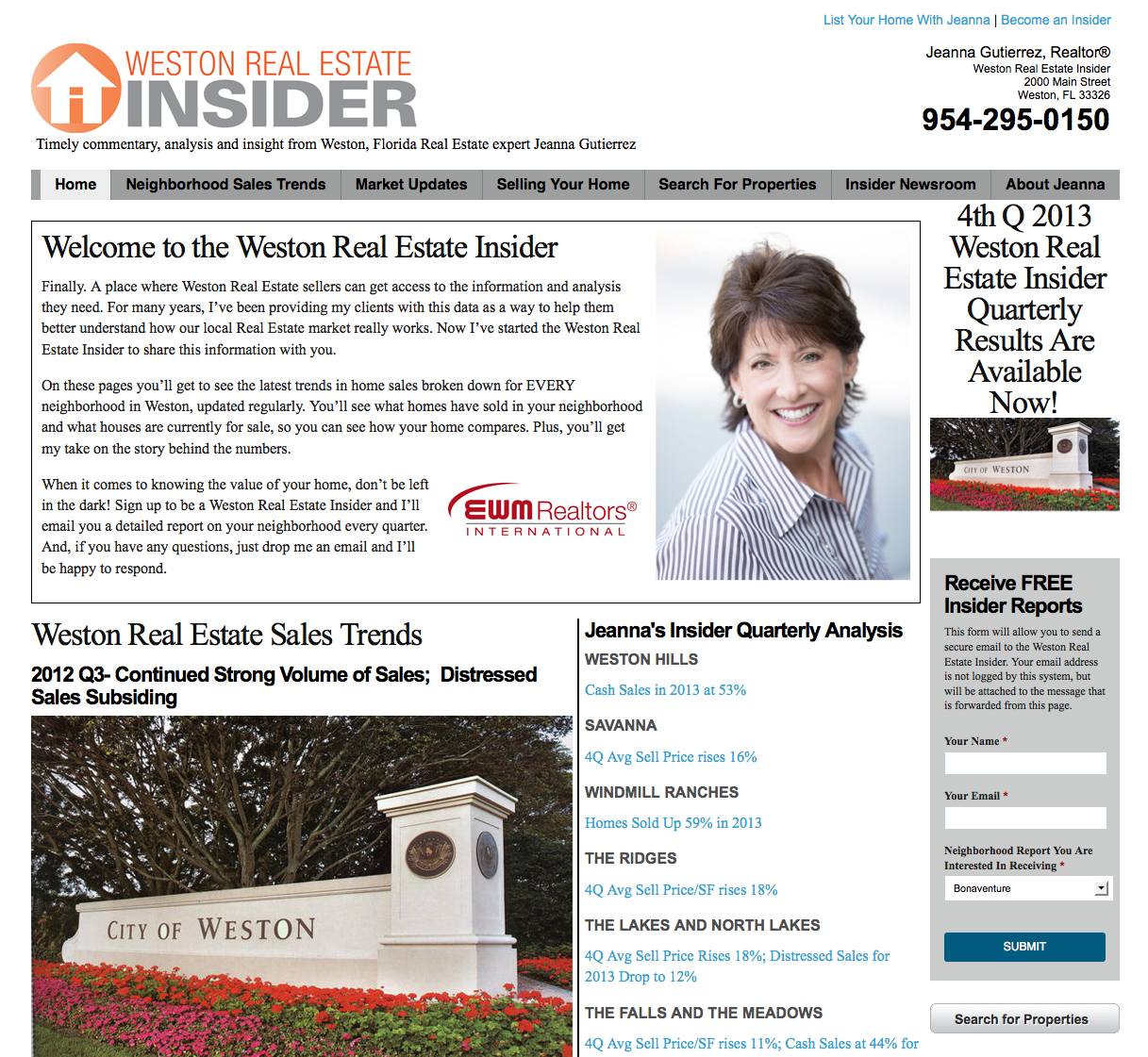 Weston Real Estate Insider