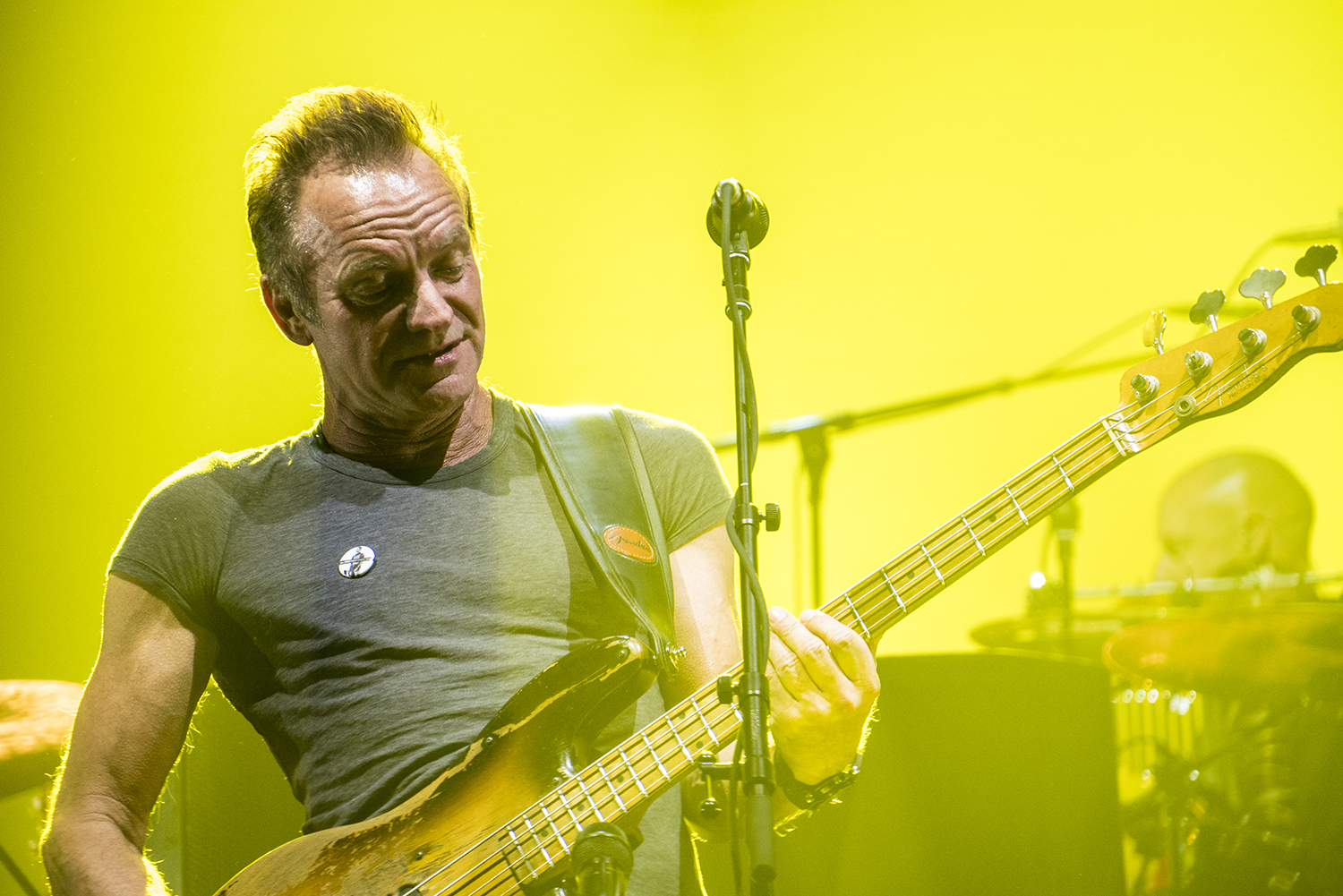 Sting at DCU Center in Worcester, Massachusetts July 2, 2016.