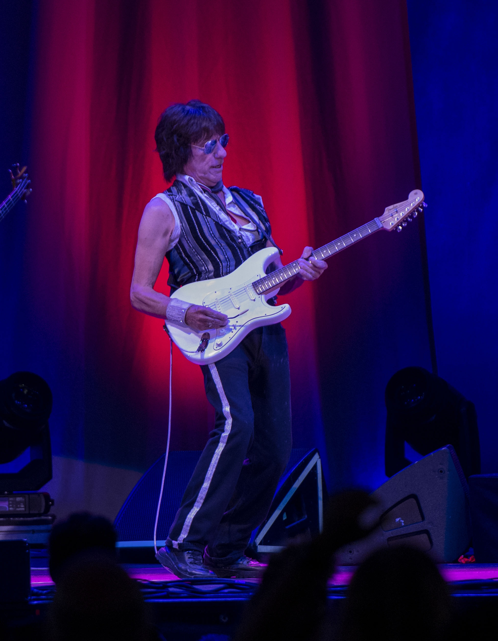 Jeff Beck at the Blue Hills Bank Pavillion, Boston, MA August 3, 2018