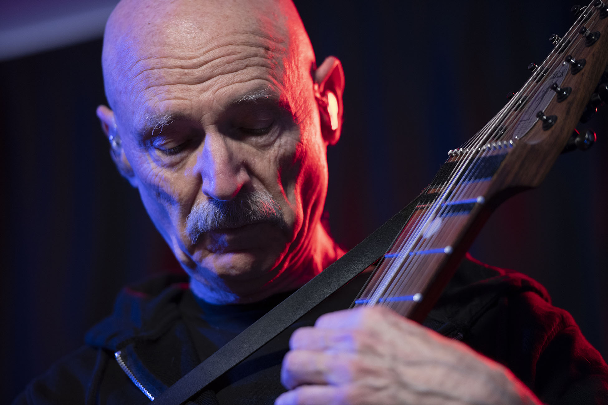 Tony Levin at the LoFaro Center of The Performing Arts, March 3, 2019