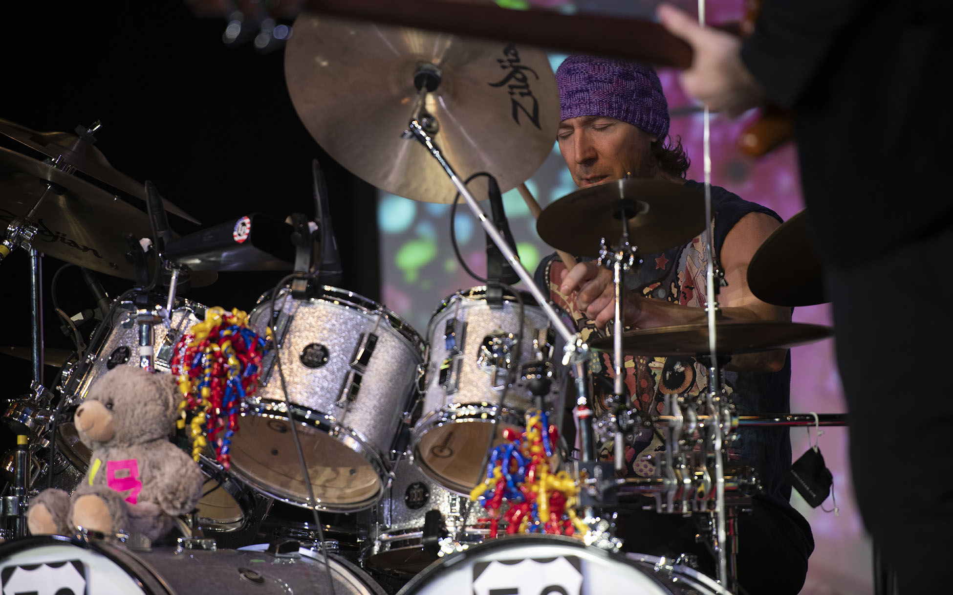 Kofi Baker of the Music of Cream at the Tupelo Music Hall March 28, 2019