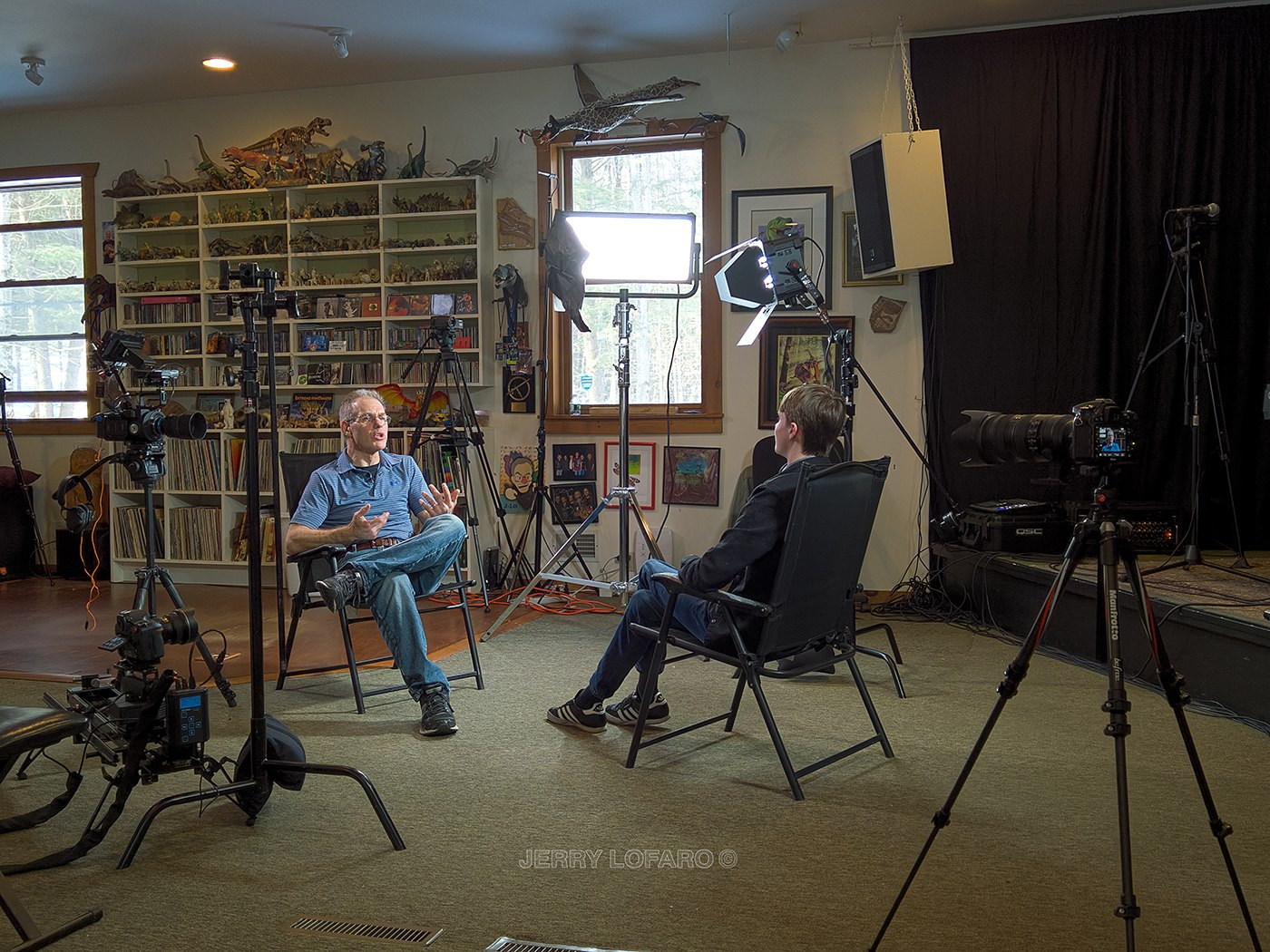 Elliot Gould interviewing Keith Emerson's grandson, Ethan Emerson