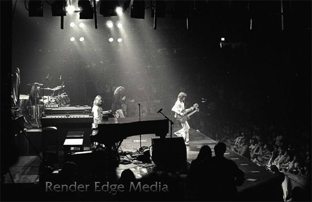 Led Zeppelin at Madison Square Garden June 1977